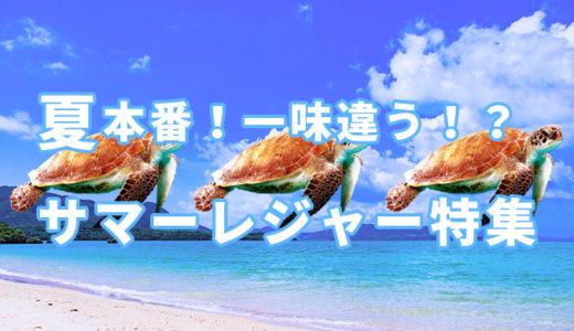 【海・川・陸・空で】夏のオススメアウトドアレジャー【12選】